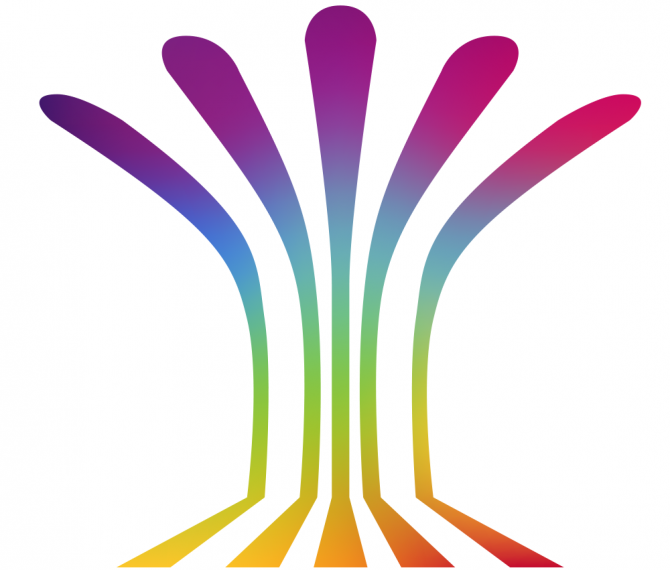 Conference Logo: Multicolour Fountain