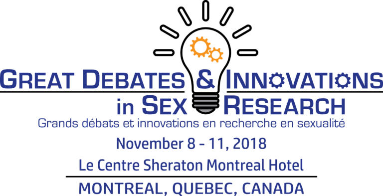Conference theme is, Great Debates and Innovations in Sex Research