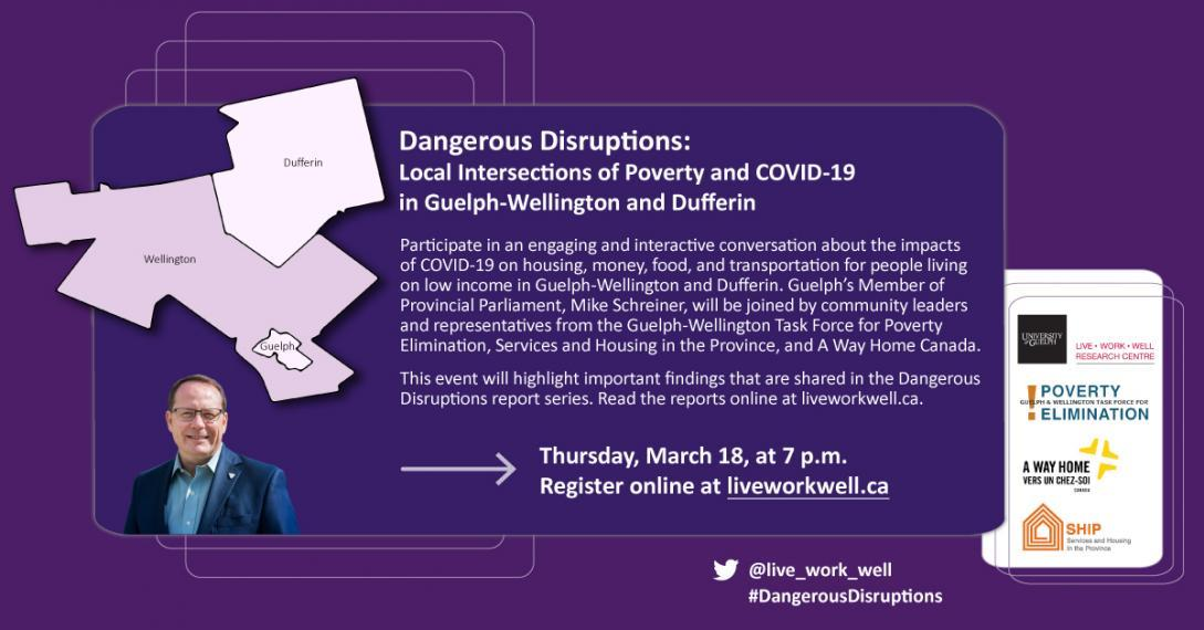 Event flyer for Dangerous Disruptions