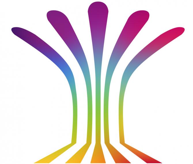 Conference Logo: Multicolour Fountain